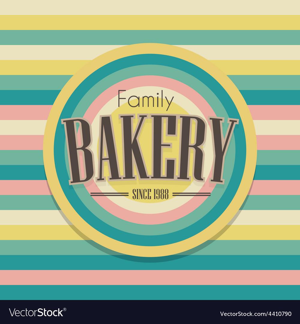 Retro bakery logo vector   Price: 1 Credit (USD $1)