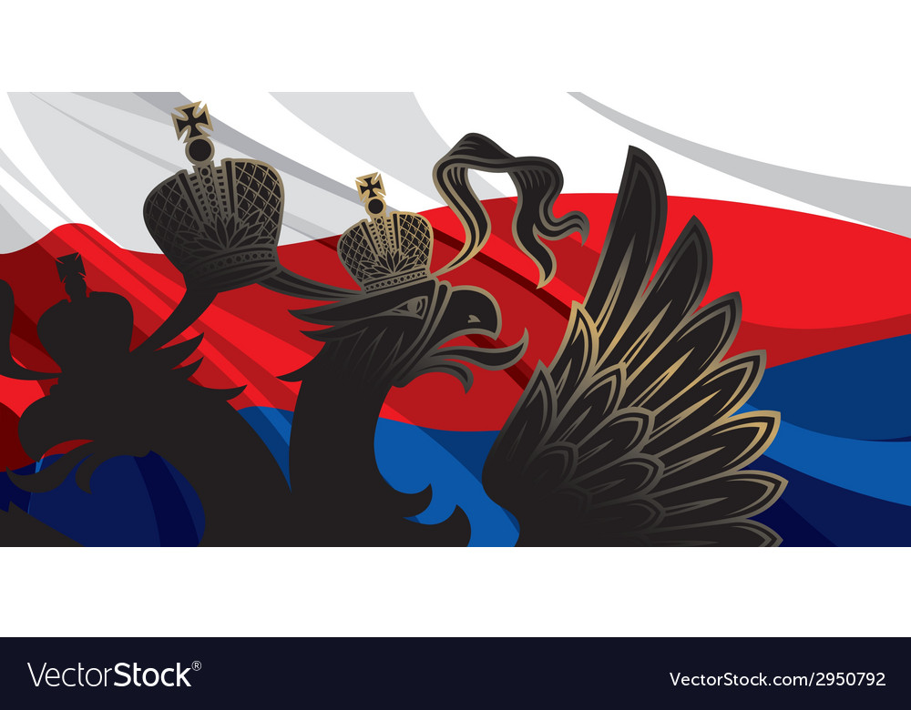 Black russia eagle vector | Price: 1 Credit (USD $1)