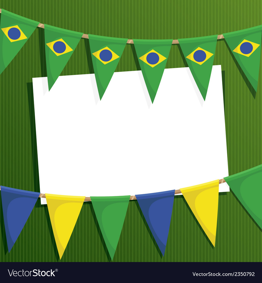 Brazil decoration vector | Price: 1 Credit (USD $1)