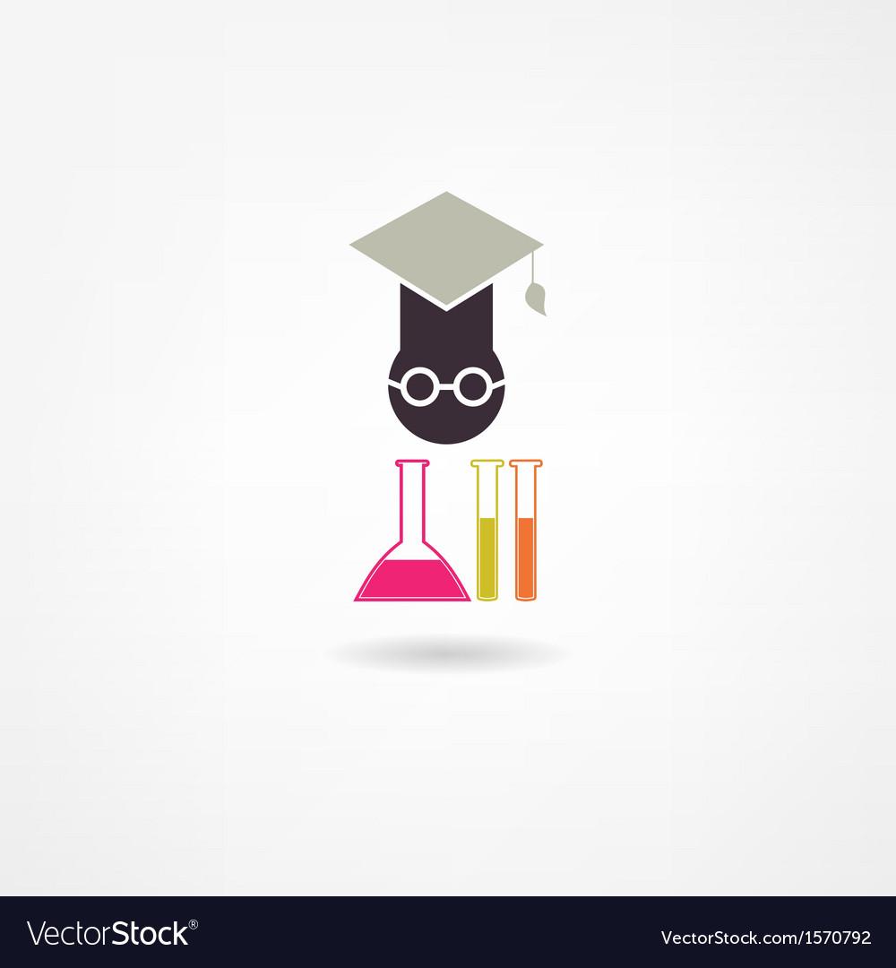 Chemistry icon vector | Price: 1 Credit (USD $1)