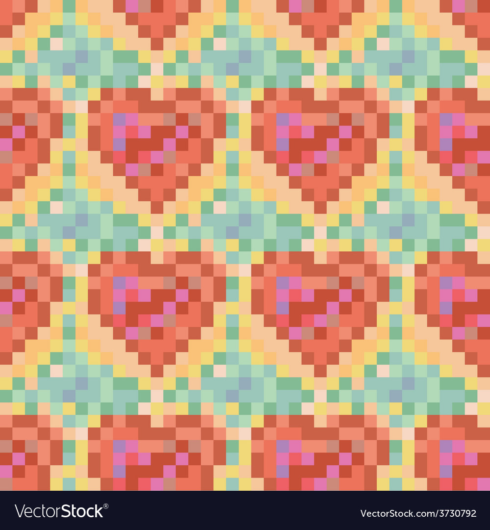 Heart pattern vector | Price: 1 Credit (USD $1)