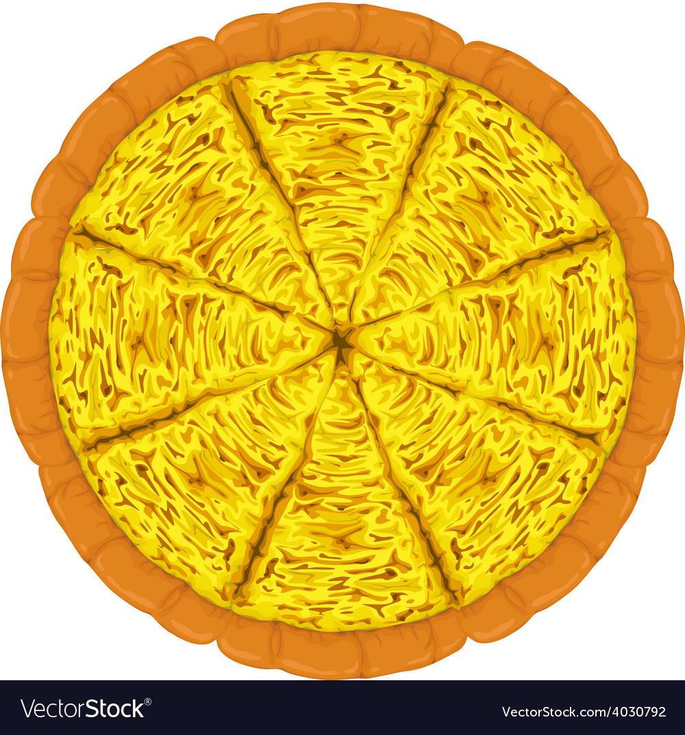 Pizza cheese slices vector | Price: 1 Credit (USD $1)