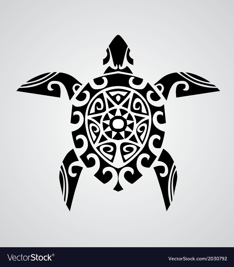 Tribal turtle vector | Price: 1 Credit (USD $1)