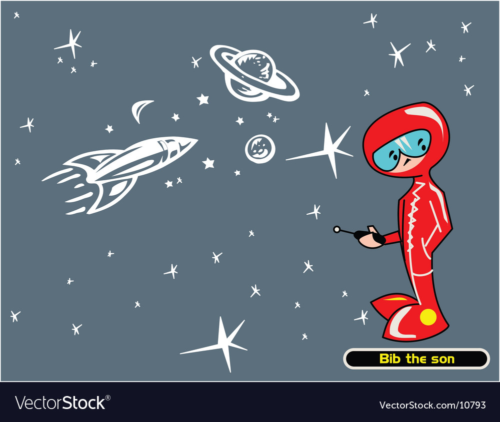 The boy of the space vector | Price: 1 Credit (USD $1)