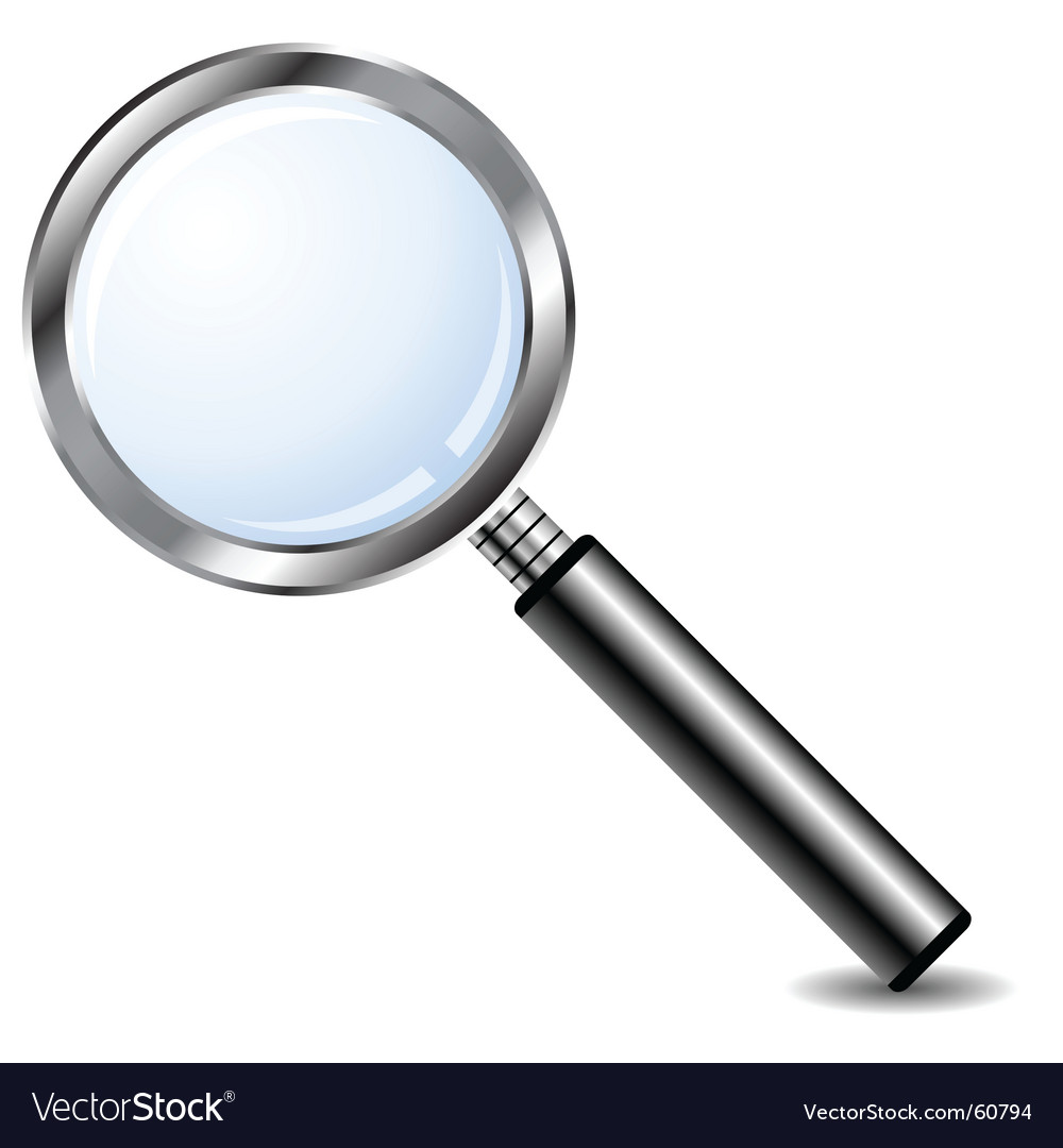Magnifying glass vector   Price: 1 Credit (USD $1)