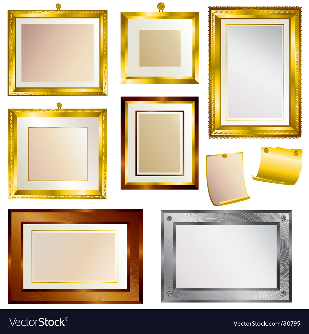 Beautiful frames vector | Price: 1 Credit (USD $1)
