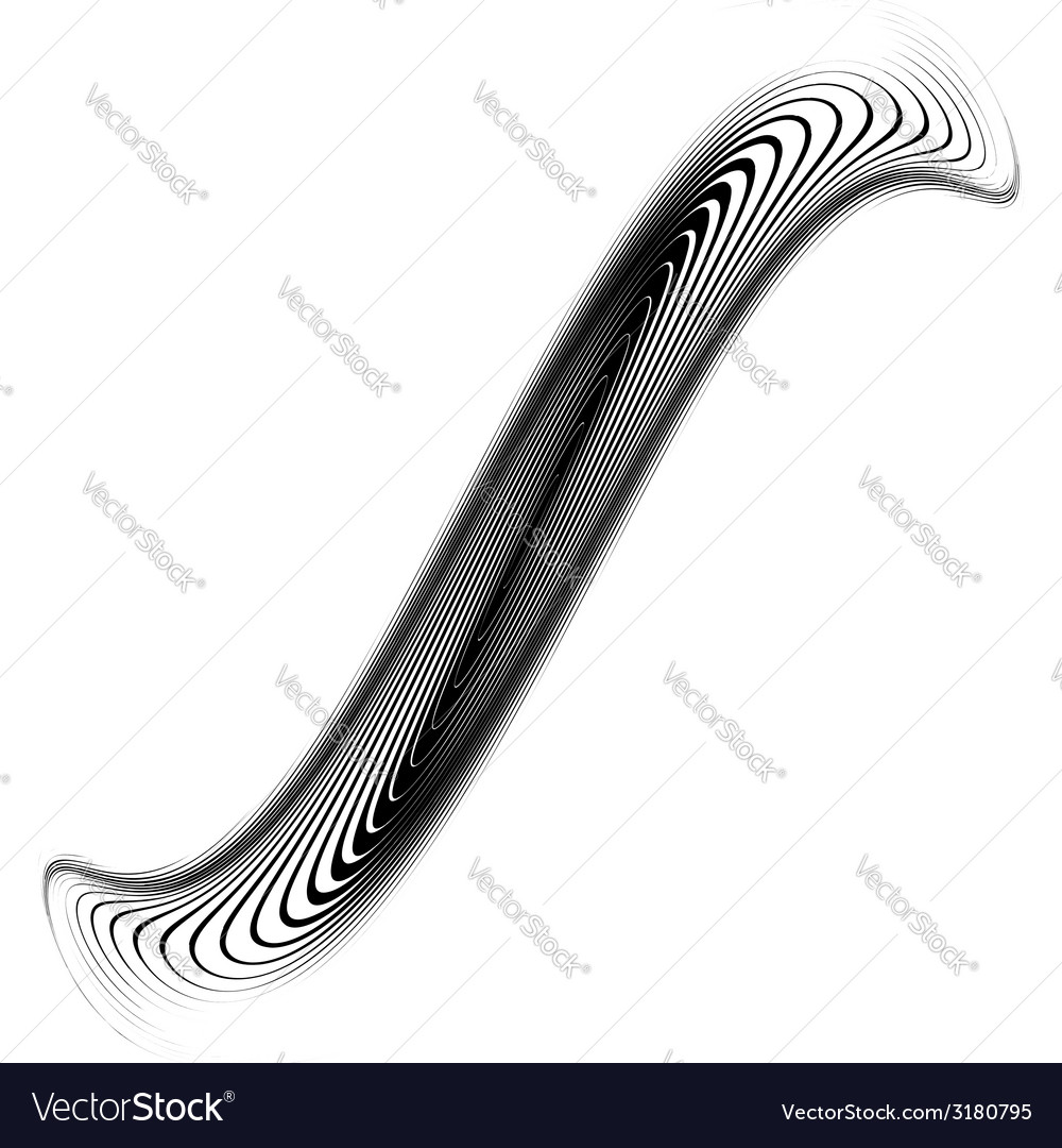Design monochrome whirlpool movement background vector | Price: 1 Credit (USD $1)