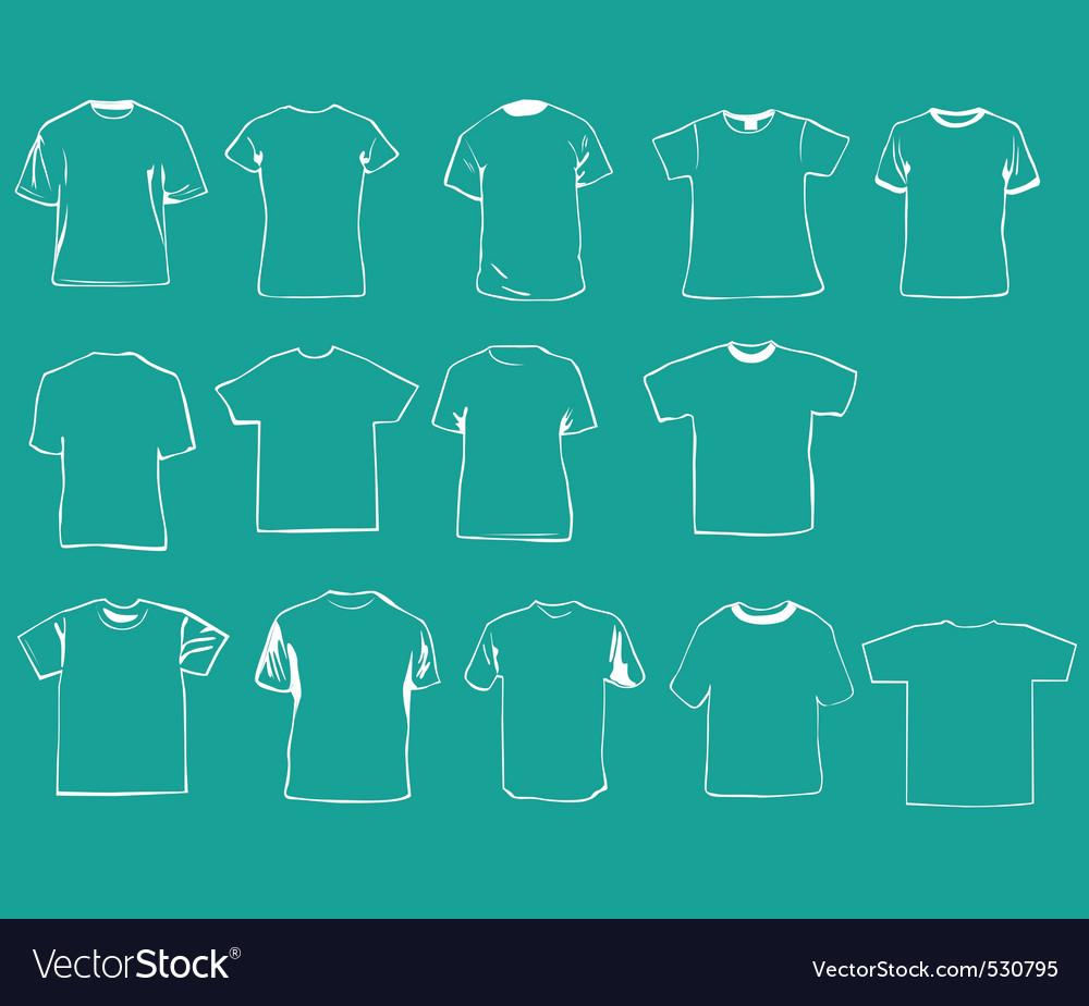 Tshirt vector | Price: 1 Credit (USD $1)