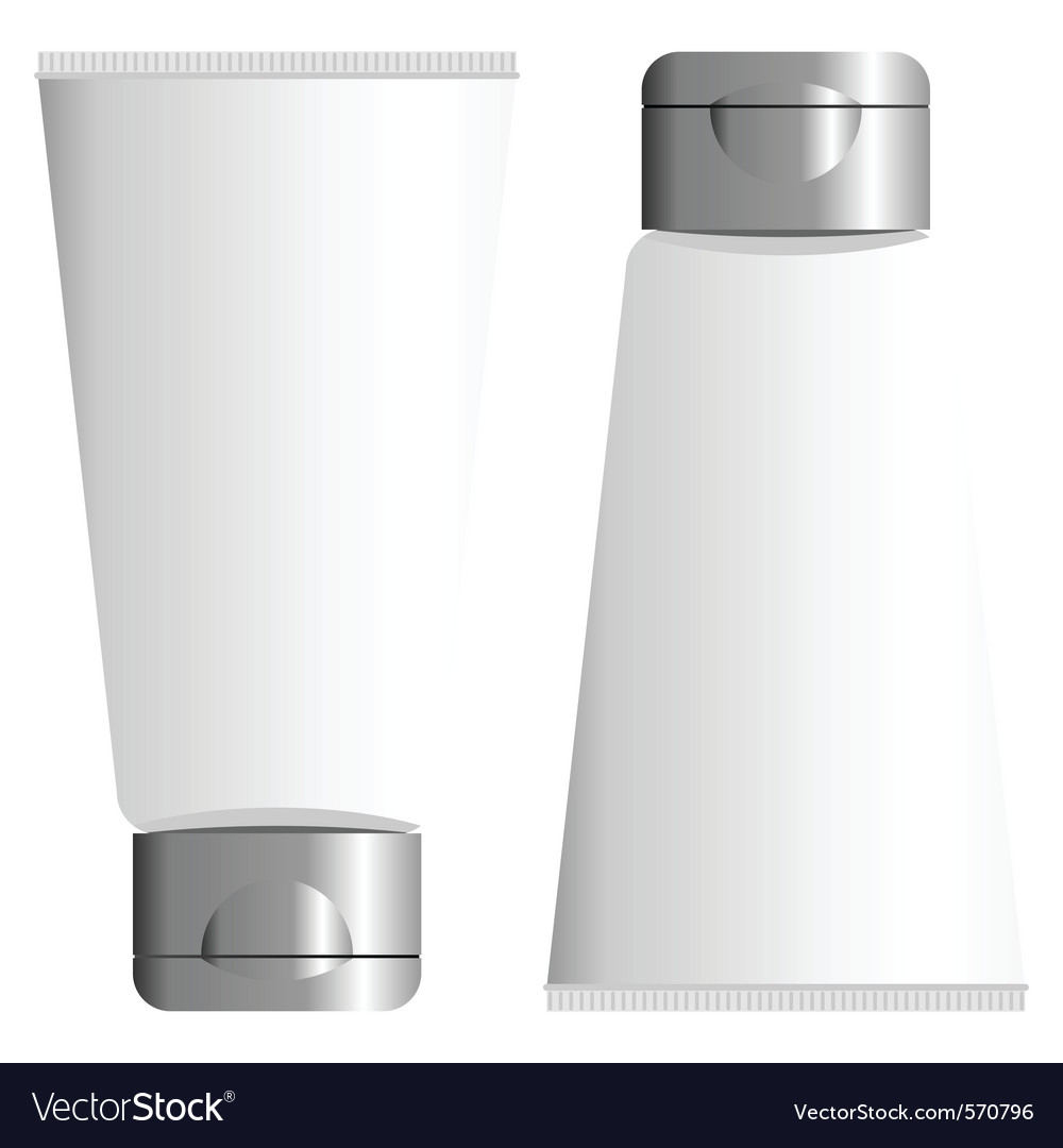Blank packing tube vector | Price: 1 Credit (USD $1)