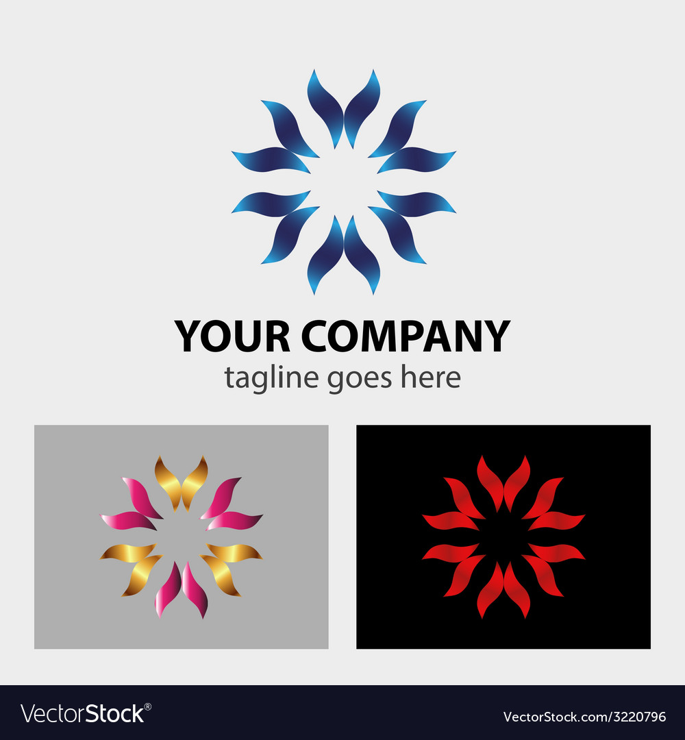 Hands taking care logo vector