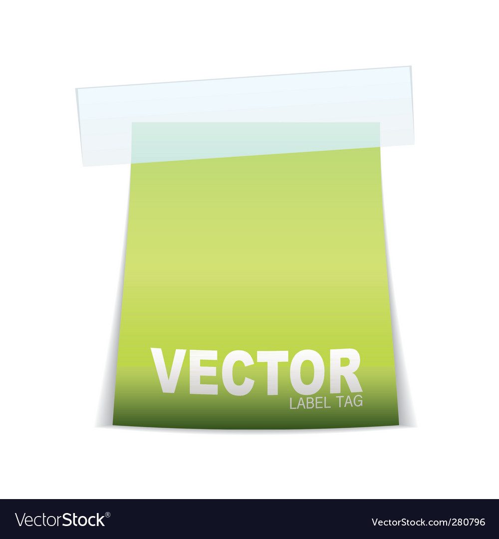 Label tag icon vector | Price: 1 Credit (USD $1)