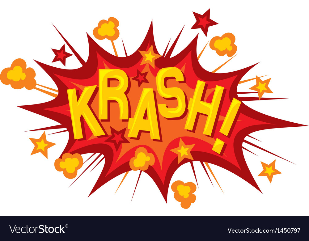 Cartoon - krash vector | Price: 1 Credit (USD $1)