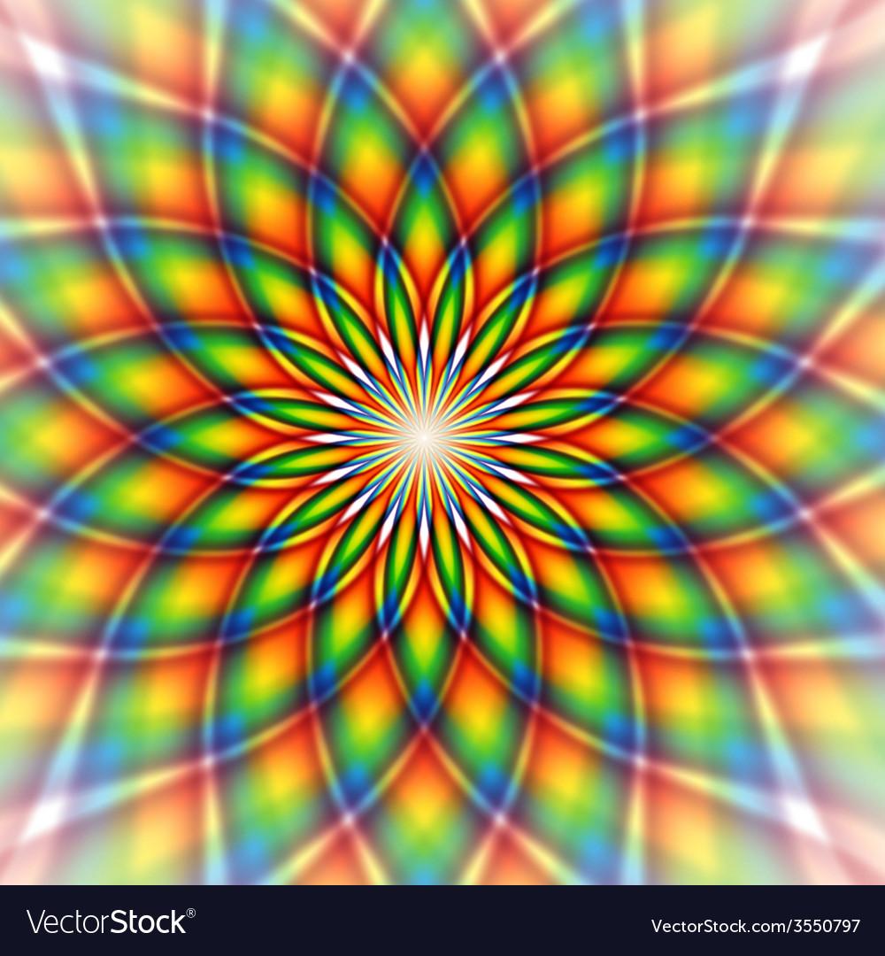 Rainbow tile vector | Price: 1 Credit (USD $1)