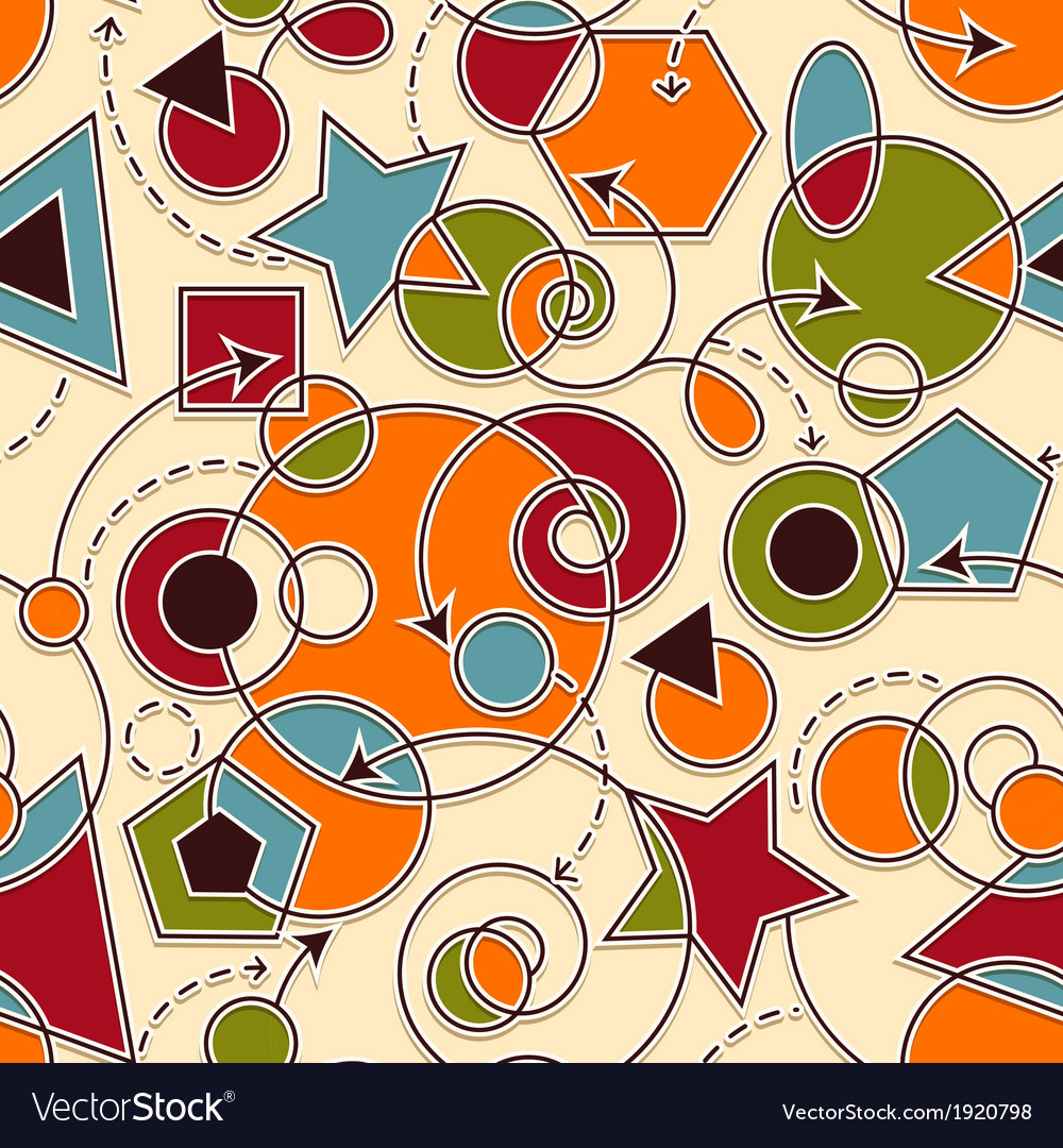 Abstract seamless composition vector | Price: 1 Credit (USD $1)