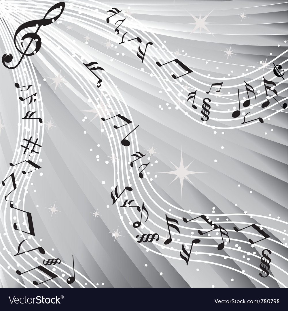 Music sound background vector | Price: 1 Credit (USD $1)