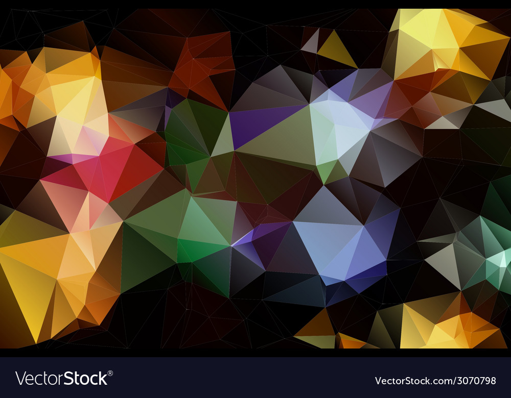 Pattern of geometric shapes trianglestexture with vector | Price: 1 Credit (USD $1)