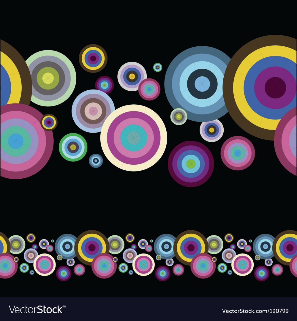 Artistic circles vector | Price: 1 Credit (USD $1)