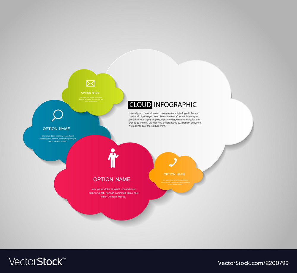 Infographic business template vector | Price: 1 Credit (USD $1)