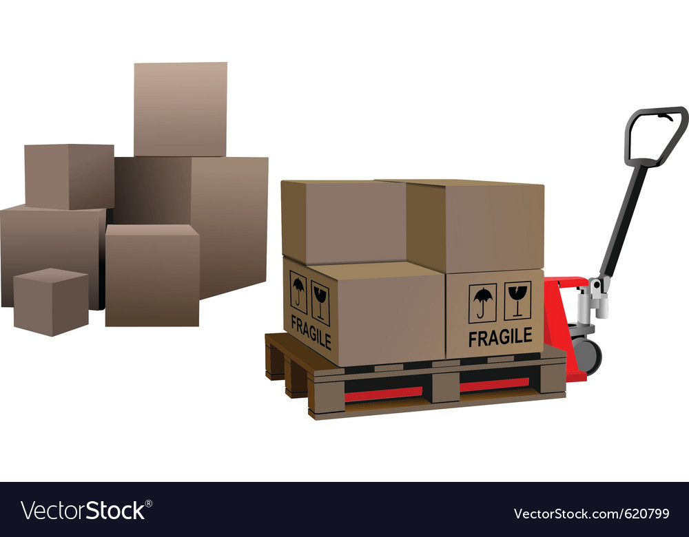 Storage boxes vector | Price: 1 Credit (USD $1)