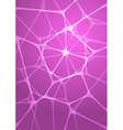 Abstract glowing pink background vector
