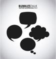 Bubbles talk vector
