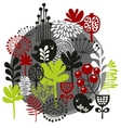 Birds flowers and other nature vector