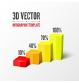 Infographic or web design template vector