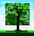 Tree square vector