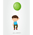 Balloon boy vector