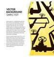 Oil pipelines vector