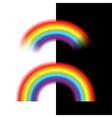 Rainbow isolated vector