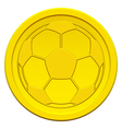 Ball on coin vector