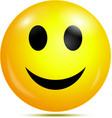 Happy smiley vector