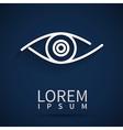 Eye icon look human vision symbol vector