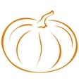 Pumpkin pictogram vector