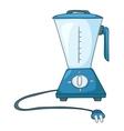 Cartoon home kitchen blender vector