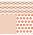 Polish polka dot abstract background vector