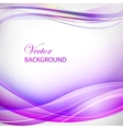 Colorful violet wave vector