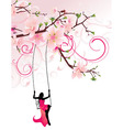 Sakura swing converted vector