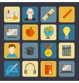 E-learning buttons set vector