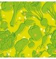 Vegetable pattern vector