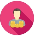 Savings account vector