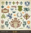 Heraldry vector