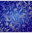 Luxury seamless golden floral wallpaper vector