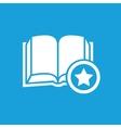 Favorite book symbol vector