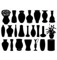 Vase set vector