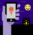 Halloween night party vector