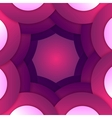 Abstract purple paper round shapes background vector