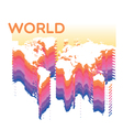 Abstract world vector