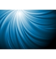 Abstract blue swirl wave background vector